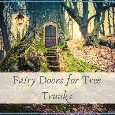 fairy doors for tree trunks