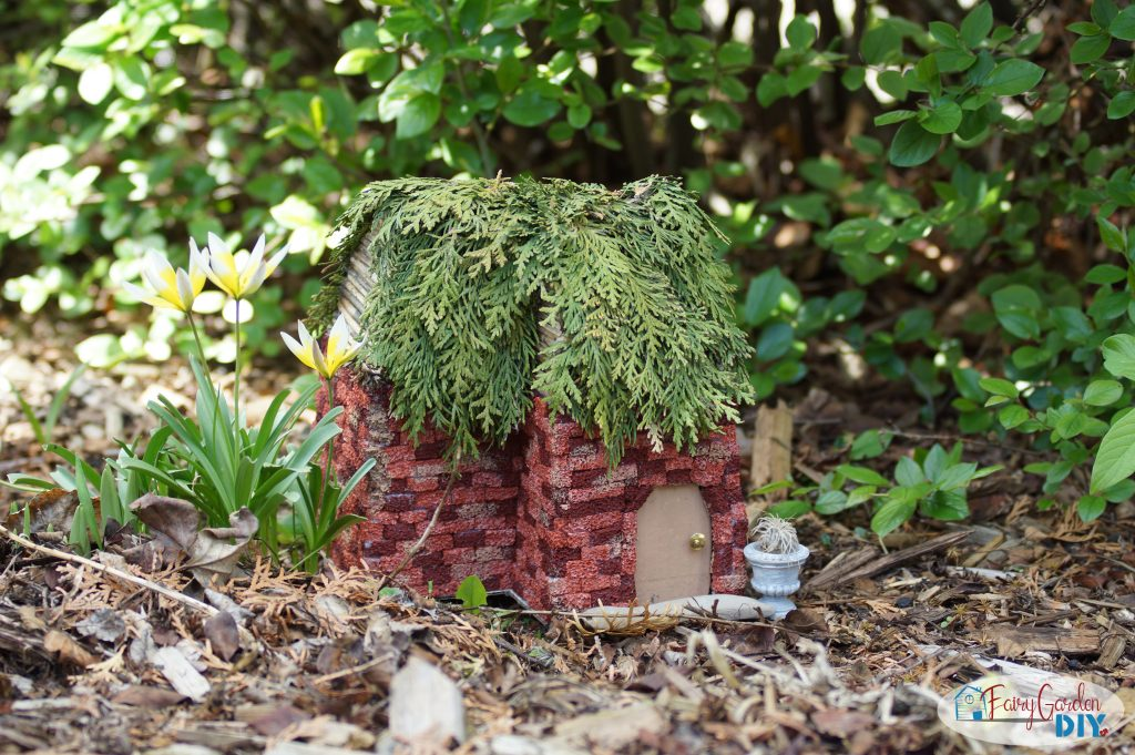 fairy house roof ideas