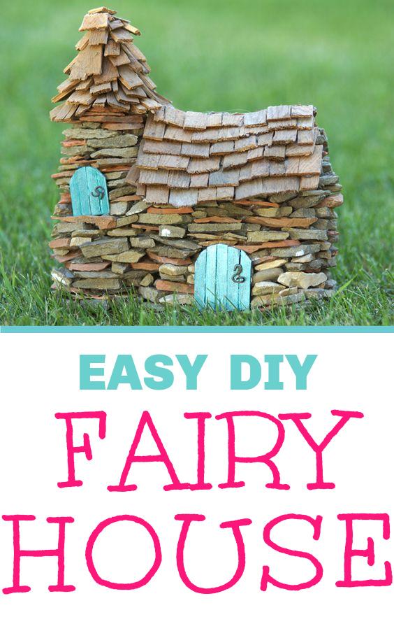 how to make fairy a fairy garden house