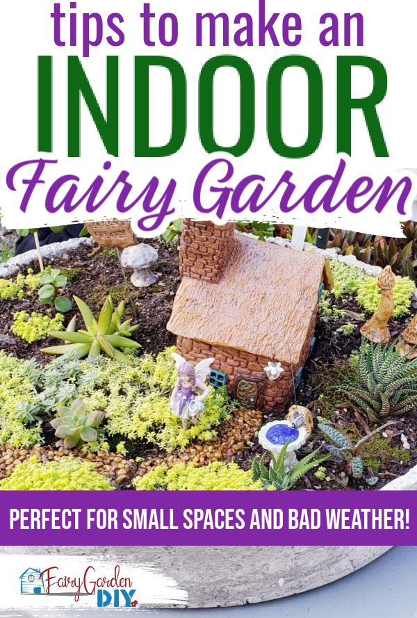 how to make an indoor fairy garden