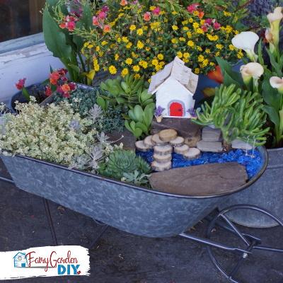 How to Build a Succulent Fairy Garden (indoor or outdoor)