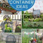 DIY indoor fairy garden Containers