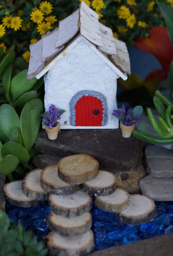Simple Fairy Garden House