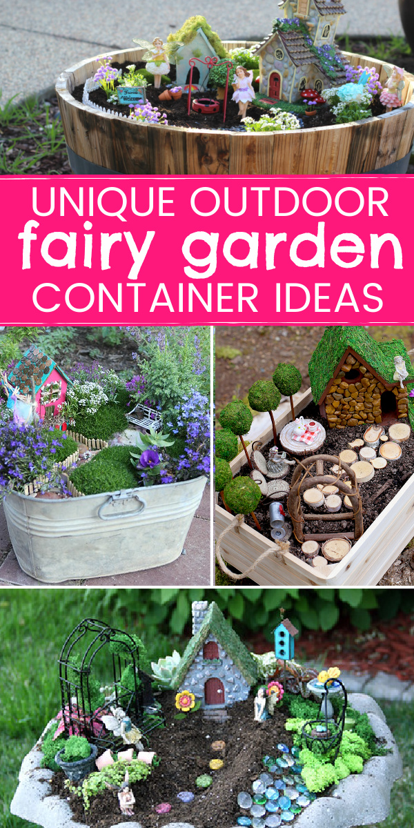 Container Ideas for Fairy Gardens!