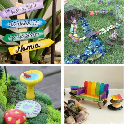 Fairy Garden Ideas for Kids (Fun to DIY)