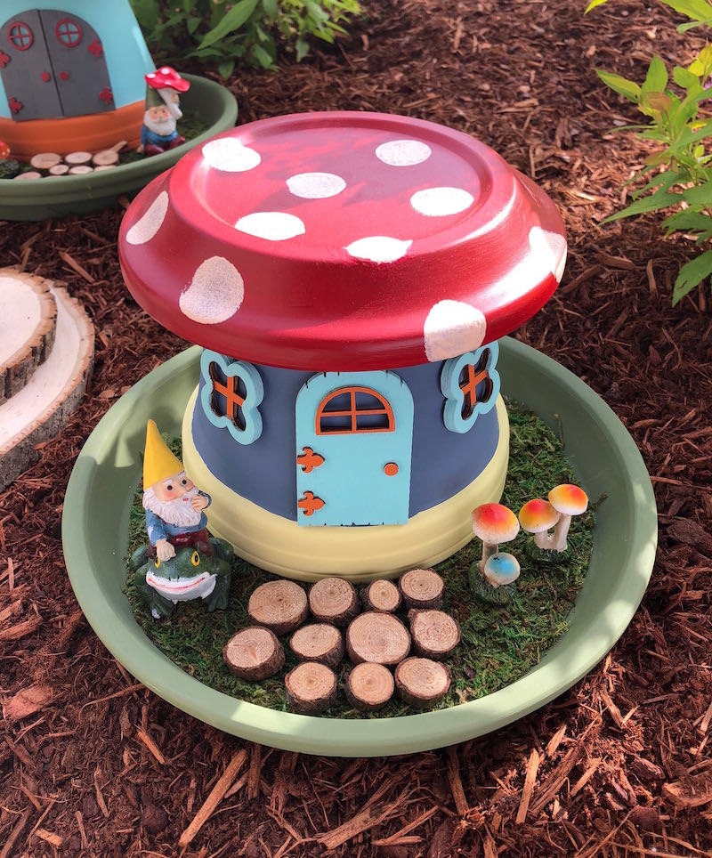 Fairy House ideas: terracotta house