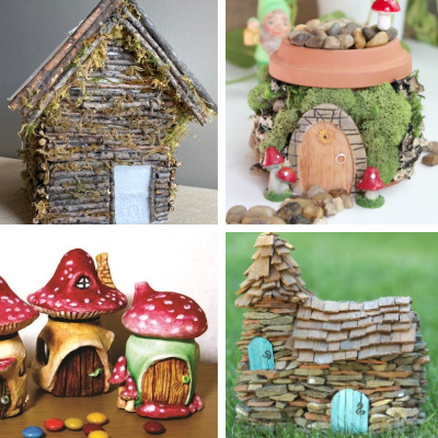 Fairy House Ideas for DIY inspiration