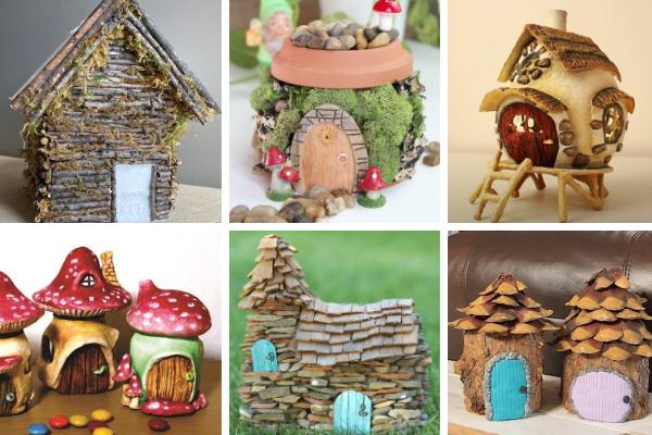 DIY fairy garden houses