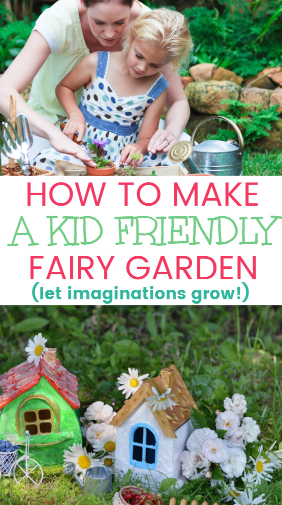 DIY Kid's Fairy Garden