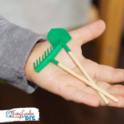 How to Make Miniature Garden Tools