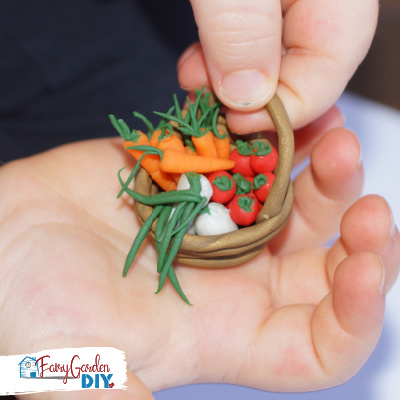 How to Make Miniature Vegetables for a Fairy Garden