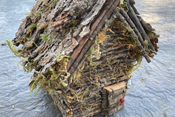 DIY TWIG FAIRY HOUSE