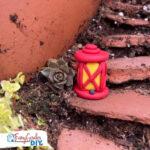 Easy DIY Polymer Clay Fairy Garden Lanterns