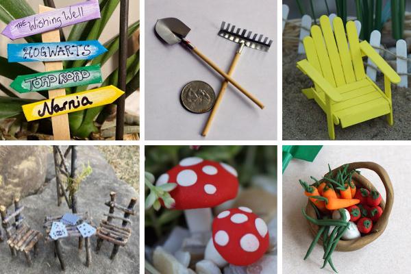 40 DIY fairy garden accessorie