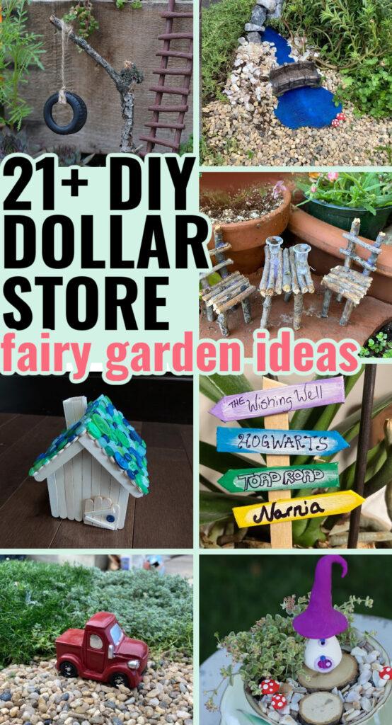 dollar store fairy garden ideas